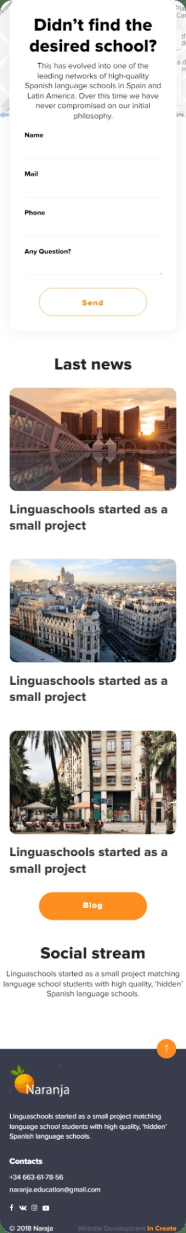 NARANJA SCHOOL - INCREATE